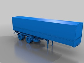 truck trailer chassis