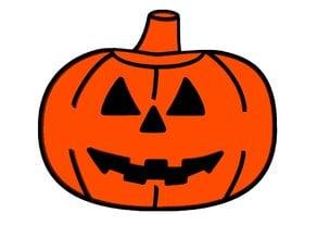 Pumpkin Refrigerator Magnet - Halloween