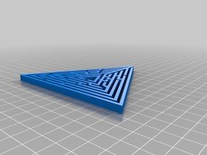 My Customized Random maze triangle generator3