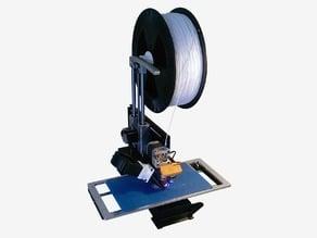 Printrbot 2kg spool adapter