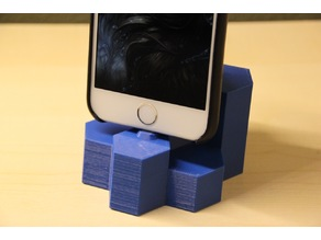 iPhone Hex Crystal Dock