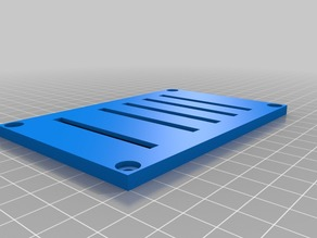 Sensor base for five PCB 208C01 force sensors for toe pressing experiments
