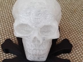 Lighted Celtic Skull Base