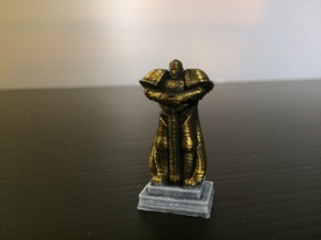 Space Marine Statue (Epic 40K - 6mm scale)