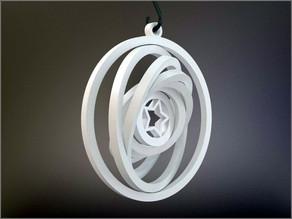 Yet Another Gyroscopic Christmas Ornament