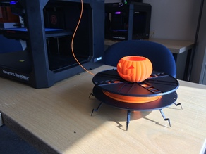Spider Pumpkin Filament Spool holder