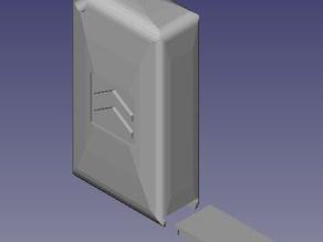 Chaveiro e Caixa de Remédios (keychain with pillbox)