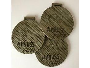 #HIMSS19 #HIMSSrun #HIMSSmakers Medal
