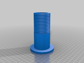 Another spool holder, I modified the nut to fit those off-sized filaments