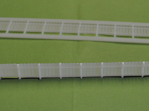 Fence for Model Railroad