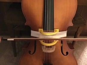 Cello bow guide