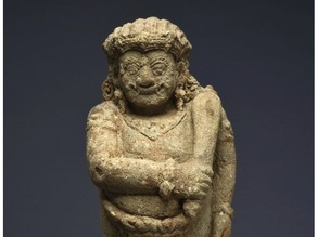 Guardian Figure (Dvarapala), c. 15th century