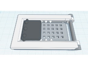 Print In Place Fold-able Phone Stand