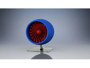 Turbo Fan Model / Jet Engine Model