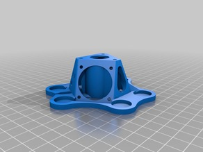 Laurman's Kossel Mini effector with 15mm magnets