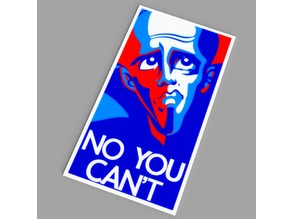 Megamind - No You Can't poster