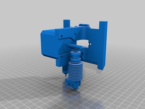 E3D / Titan - Quick fit carriage plate