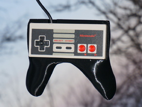 NES Controller Grip / Handle / Holder - Nintendo Entertainment System Gamepad