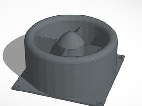 140mm fan grill
