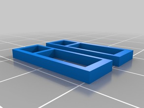 28mm scale window to fit top floor of Town House designed by Printable Scenery.