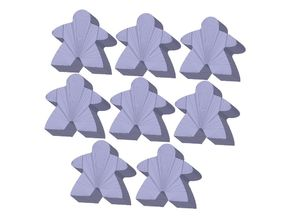 Meeples for tiny printers