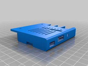 Ender 3 Raspberry Pi 2/3 Cover with Camera Slot