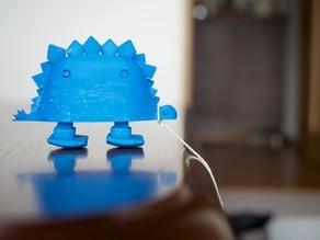 walking stegosaurus
