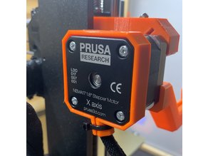 Original Prusa i3 MK3 X-axis motor cable strain relief