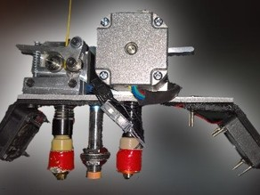 Printrbot Simple Metal Dual Extruder Upgrade