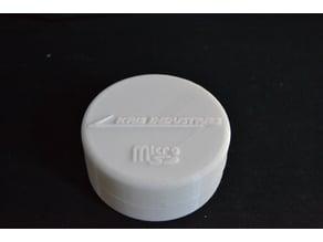 Boîte de rangement Micro SD + Adaptateur SD