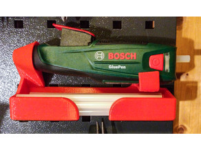 Bosch GluePen holder for OBI pegboards