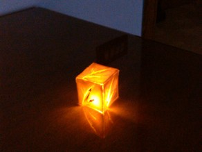 Small, Cheap and Elegant Lamp