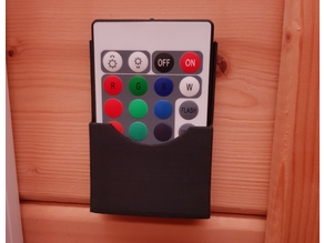 RGB LED Strip - Remote Wall Mount
