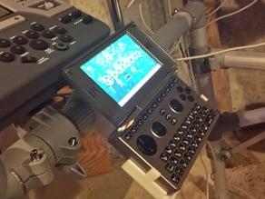 Open Pandora handheld computer mount.