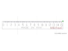 尺子-ruler-15cm