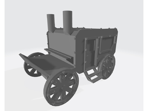 28mm Carriage V1 - Finished