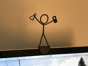 MacBook Pro Camera Cover and XKCD Holder