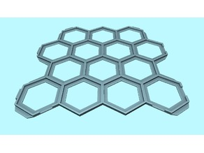 Hex Quest Interlocking Tile Grid