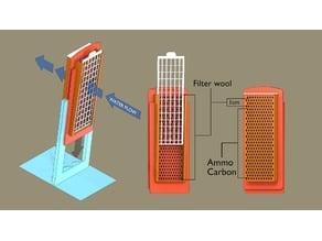 Aquarium slim filter s10-15-20 (reuseable)