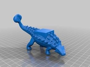 Ankylosaurus Dino Mount