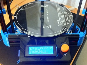 Kossel Mini - SmartLCD controller housing