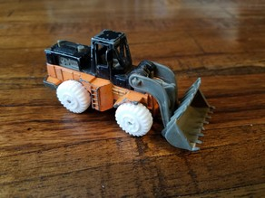 "Hotwheels ""Wheel Loader"" Replacement Tire"
