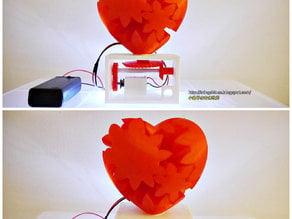 Geared Heart, Motorized Edition -JAY Fix