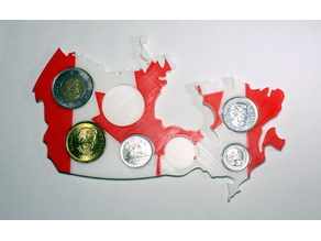 Canada Coin Map