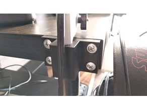 Ikea Tertial desk side mount