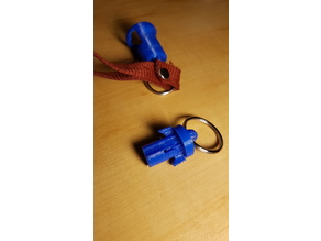 Quick Release Keyring