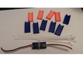 RC HD Servo Clips