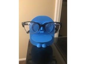 Owl eyeglasses holder (solid)