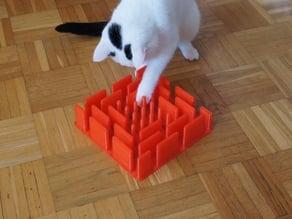 Katzenspielbrett / Cat play board