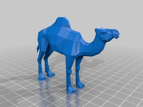 Low Poly Camel